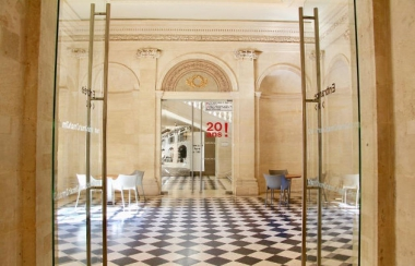 MAHJ - Vestibule Hôtel de Saint-Aignan - photo Agathe Perreau , Paris