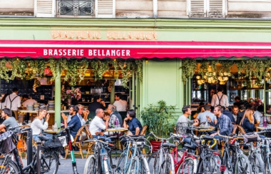 Brasserie Bellanger - Façade, Paris